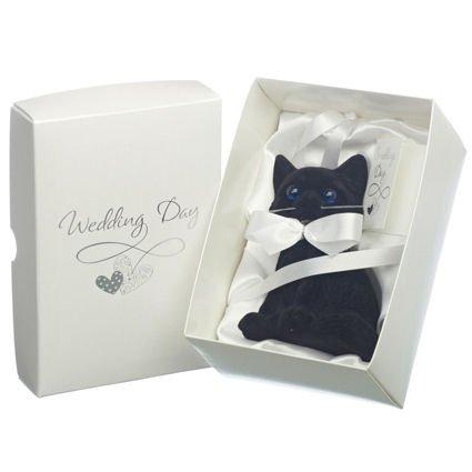 Lucky Black Cat Wedding Day Gift