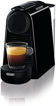 DeLonghi Nespresso Essenza Mini En 85B Koffiecapsulemachine Welcome Set met Capsules In Verschillende Smaken 19 Bar Pompdruk Ruimtebesparend Zwart