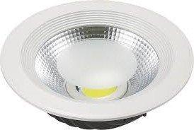 Foco Downlight LED 40W Cobslim Circular Blanco Cálido 3000K 3600LM-4000LM