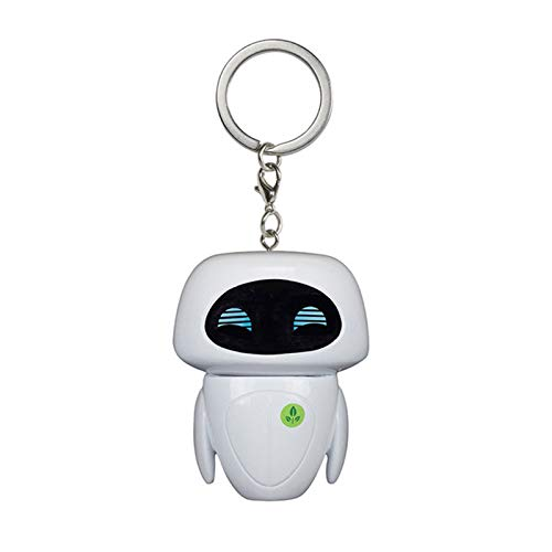 The Nightmare Before Christmas Jack SkellingtonBig Hero 6 Wall E Eve Keychain with Box Alloy Car Key Chain Bag Pendant - Watch Gift Keychain Car