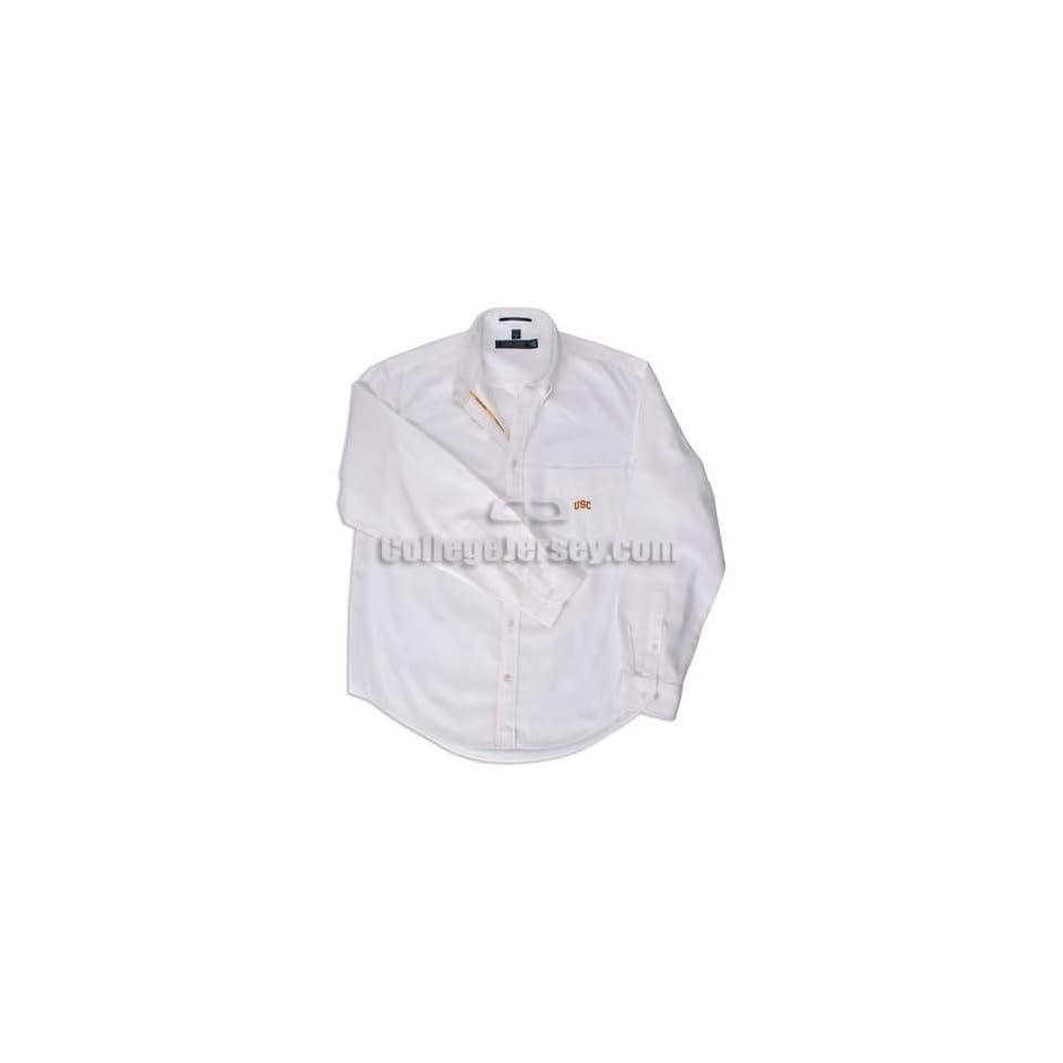 South Carolina Gamecocks Chalk White Shirt Memorabilia.