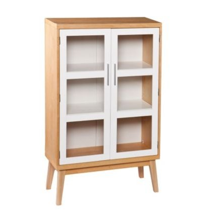 Halifax Glass Door Storage Cabinet - 50''H