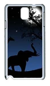 Animals Return Home DIY Hard Shell White Samsung Galaxy Note 3 N9000 Case Perfect By Custom Service