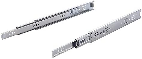 6 Pair of 16 Inch Full Extension Side Mount Ball Bearing Sliding Drawer Slides 18 and 20 Lengths /… Available in 10 14 12 16