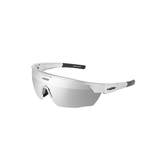 Lazer Eyewear Eddy Sunglasses (GLOSS SILVER - Face Lazer Sunglasses
