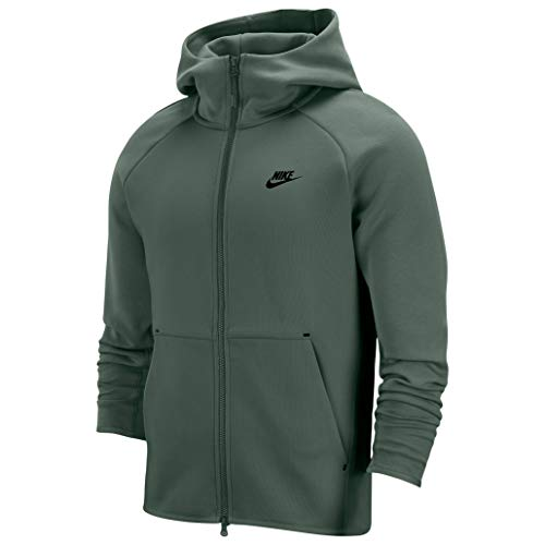 Nike M NSW TECH Fleece Hoodie Full Zip Mens 928483-370 Size 2XL