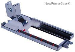 (NewPowerGear Slide Step Button Hole Foot Replacement For BERNINA 356, 357, 358, 359, 360, 361, 362, 363, 364, 365, 366, 367)