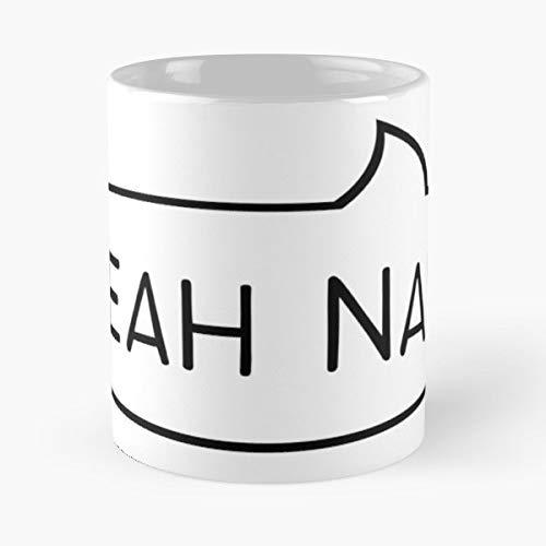 Yeah Nah Aussie Australian Gift Coffee/tea Ceramic Mug Father Day