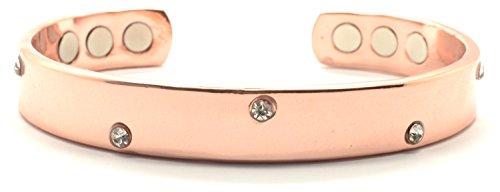 Copper Crystal Bracelet - 4