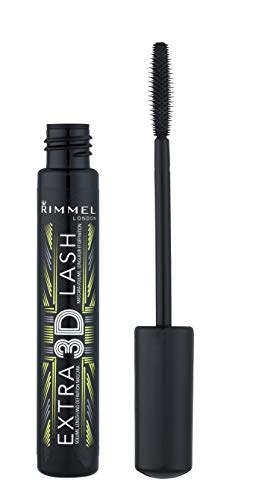 Rimmel London Extra 3D Lash Mascara Extreme Black, 8g