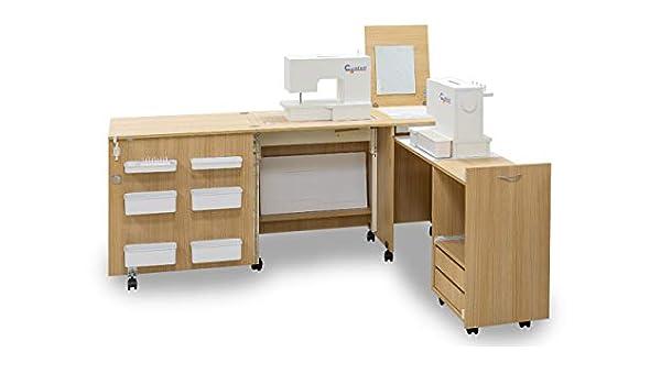 Comfort 3 | Muebles para máquinas de coser y overlock | (Beech ...