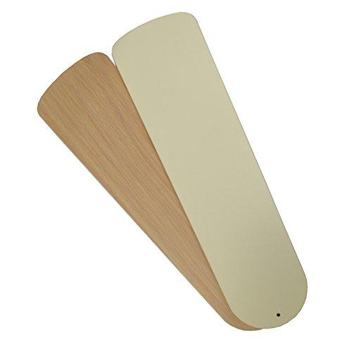 Harbor Breeze 5-Pack 18.6-in White/Oak Reversible Ceiling Fan Blade (Harbor Breeze 18 Fan)