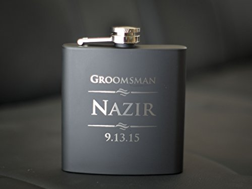 Custom-Engraved-Black-Flask-Personalized-with-Any-Text