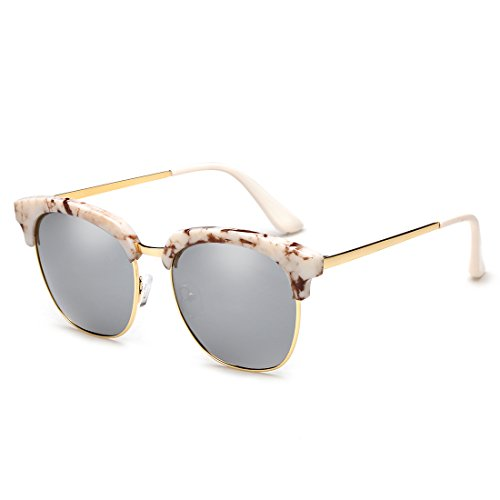 ZHIRONG turismo sol de 100 protección de Gafas A gafas sin conducción semi polarizadas Color montura UV400 B marco de 1xr1ZFpqw