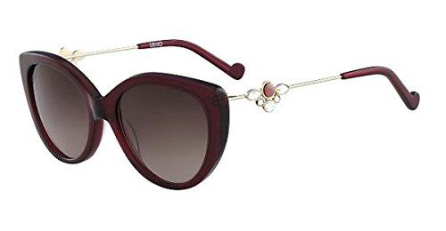 Liu Jo Lj686Sr 604 54 Gafas de Sol, Burgundy Mujer: Amazon ...