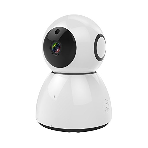 Amacam AM-IP40 Home Security Camera Systems Wireless. HD Video Baby Monitor and Surveillance Video Recorder. HD1080p IP Camera with Dynamic Night Vision Two Way Audio. Remote for Control Pan and Tilt (Ip Support Dynamic)