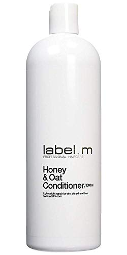 Label.M Honey & Oat Conditioner 33.8 oz Daily Conditioner Moisturizes, Nourishes, Protects dry, damaged, dehydrated hair. Manuka Honey Repairs Cell Damage, Leaves Hair Soft & healthy-looking.