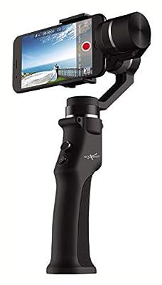 PROGLEAM FPV System, Beyondsky Eyemind 3-axis Gyro Intelligent Handheld Gimbal Stabilizer for Smartphone