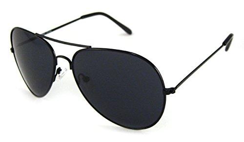 UrbanSpecs Sunglasses - Classics - Aviator / Frame: Black Lens: - Sunglasses Urbanspecs