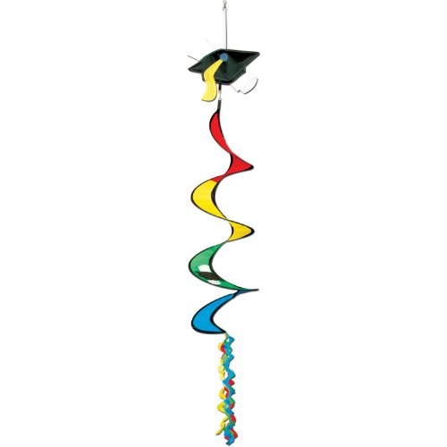 Graduation Wind-Spinner Party Accessory (1 count) (1/Pkg)