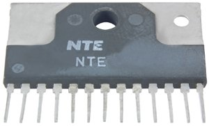 - NTE Electronics NTE7104 Vertical Deflection Output Integrated Circuit with Drive Circuit for CRT Display, 13-Lead SIP Package