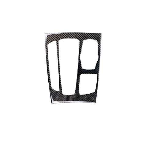 DEH Carbon Fiber Stickers Trim Strip Car Control Gear Shift Panel for BMW F15 F16 - Solid Color