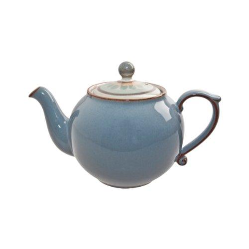(Denby Heritage Terrace Accent Teapot, Gray )