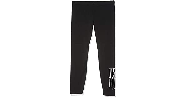 db15a4f0542472 Nike Women's LGGNG CLUB JDI TIGHTS, Black Black/white, Small (NKAR3641):  Amazon.ae