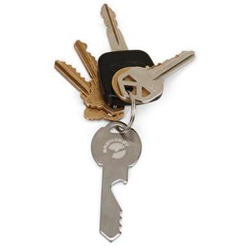 Brewzkey - Llavero abrebotellas con forma de llave: Amazon ...