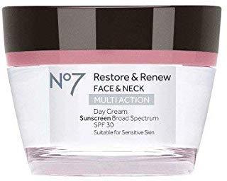 No7 Restore & Renew Multi Action Day Cream SPF 30-1.69oz Day Cream