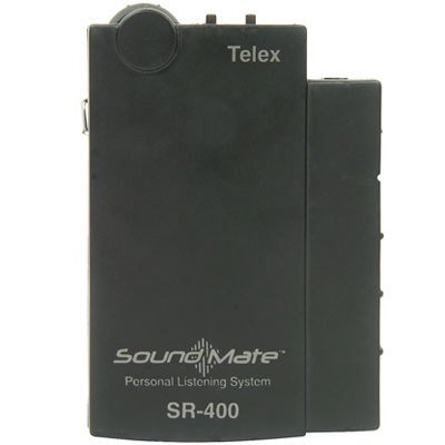 (Telex SR-400 Assistive Listening Soundmate 17-Channel Personal Receiver, 72-76 MHz Band)