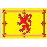 SCOTLAND LION RAMPANT 3 X 5 FEET LARGE COUNTRY FLAG BANNER ... (92 CM X 152 CM) .. NEW GREAT QUALITY