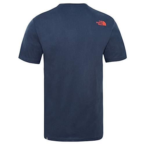 North Walls Uomo Manica Corta A shirt For Are Climbing urban Blu Navy The Face T dqnExdBw