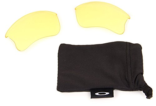 Oakley Flak Jacket Replacement Polarized Lens,Multi Frame/Yellow Lens,One - $16 Oakley Sunglasses