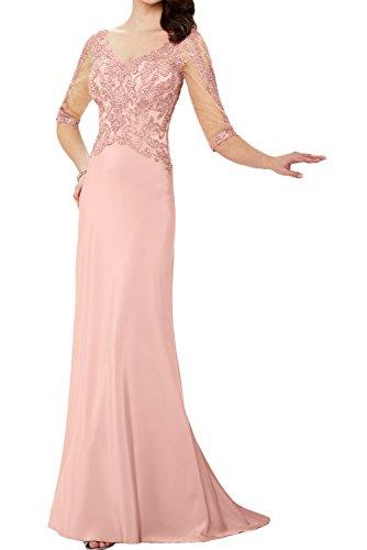Ivydressing - Vestido - Estuche - para mujer Beige Rosa