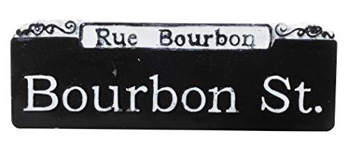 - Bourbon St. Rue Bourbon Street Sign French Quarter New Orleans Souvenir Refrigerator Magnet