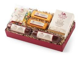 - Hickory Farms Deluxe Holiday Favorites Sausage Gift Set 1.3lbs.
