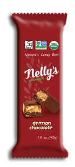Nelly's Organics German Chocolate Bar (Pack of 9)