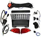 Club Car Precedent Golf Cart LED Ultimate light kit ALL LED LIGHT KIT with turn signals 2008+