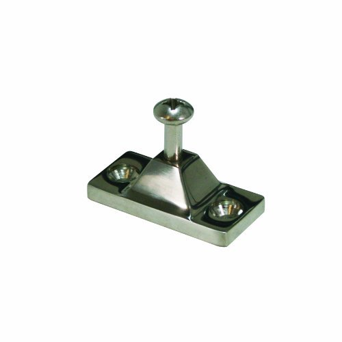SeaSense Stainless Steel 316 Side Mounted Deck Hinge Mount, 7/8 X 2-Inch by SeaSense by SeaSense
