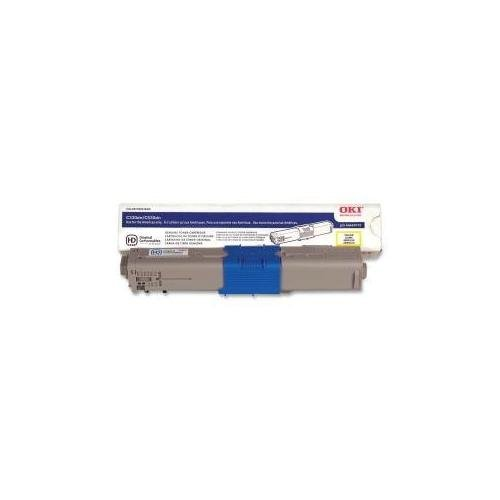 44469701 Toner, 3,000 Page-Yield, Yellow -  0.890, Laser Toner