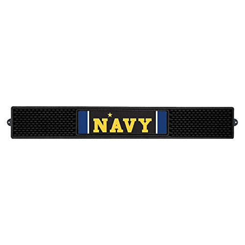 Fanmats 20623 U.S. Naval Academy Drink Mat, Team Color, 3.25