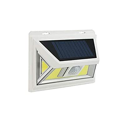 Carl Artbay Outdoor Solar Lights, Motion Sensor Light 180° Wide Angle Induction Wireless Waterproof Wall Mounted Security Light Solar Powered LED Garden Lights for Fence Garage Path