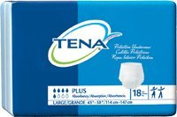 TENA Plus Absorbency Protective Underwear Large 45