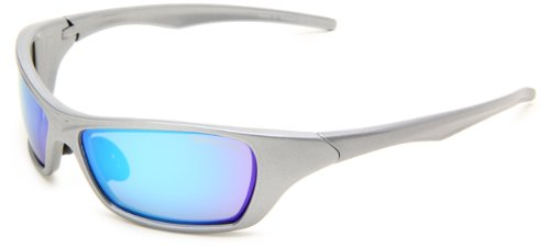 Bobster Bolt EBOL002S Square Sunglasses,Black Frame/Blue Lens (Womens Motorcycle Sunglasses Bobster)