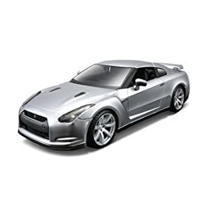 maisto 1 24 build your own diecast special edition 2009 nissan gt r kit by maisto. Black Bedroom Furniture Sets. Home Design Ideas