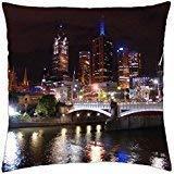Pillowcase,Melbourne - Throw Pillow Cover Case 18 X 18inch x 18