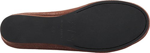 Suola Francese Zeppa Slip On Shoes Stampa Scatola Cognac