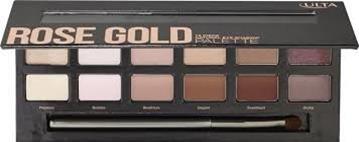 Ulta Cosmetics Rose Gold 12 piece Natural Eye Shadow Palette New