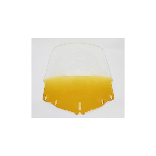 Memphis Shades Gold Wing 1800 Tall Vented Windshield - Gradient Yellow (Windshield Tall Vented)